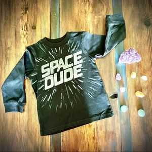 Carters Long Sleeve SPACE DUDE Graphic Tee 5T NWOT